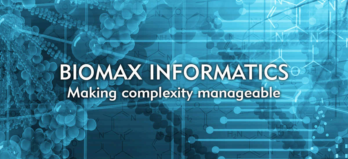 Biomax Informatics - Making complexity manageable
